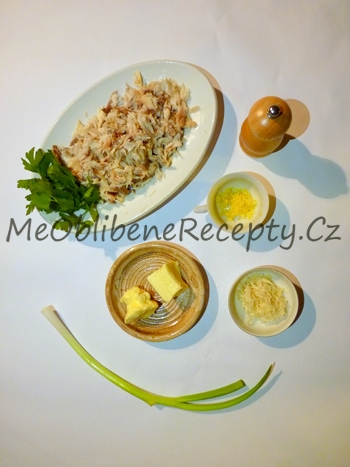 Rybí paštika s křenovým máslem