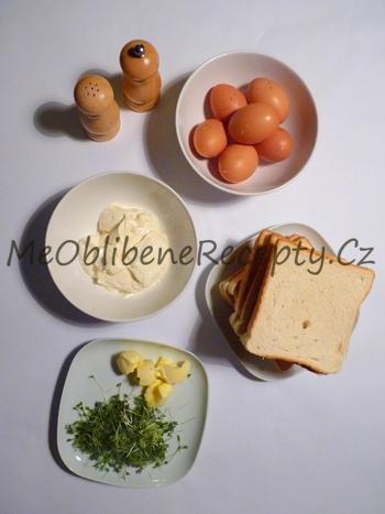 Vaječná pomazánka s řeřichou