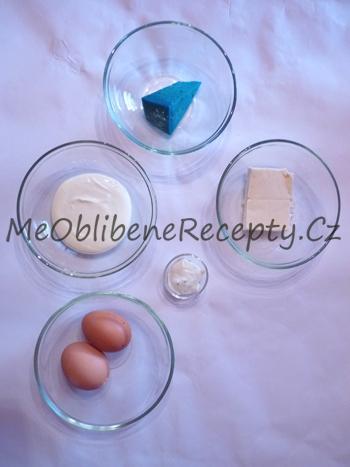 Vaječná pomazánka s levandulovým sýrem