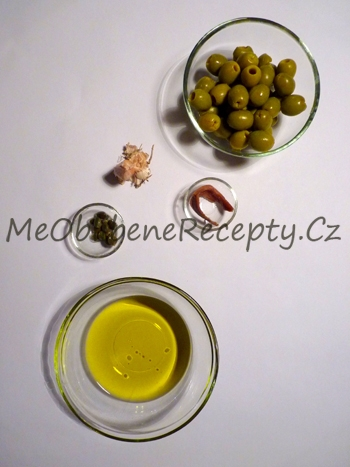 Tapenáda ze zelených oliv