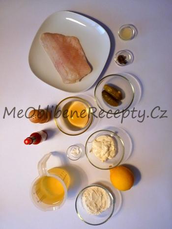 Rybí filety v pivním těstíčku s domácí tatarkou