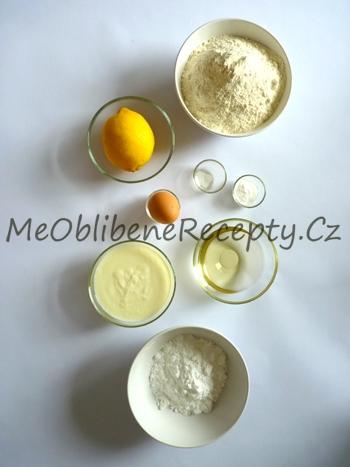 Jogurtové muffiny s citronem