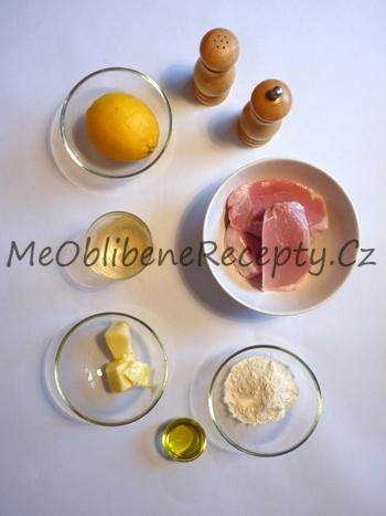 Citronové telecí medailonky