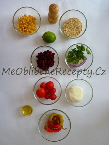 Mexický salát s rajčaty