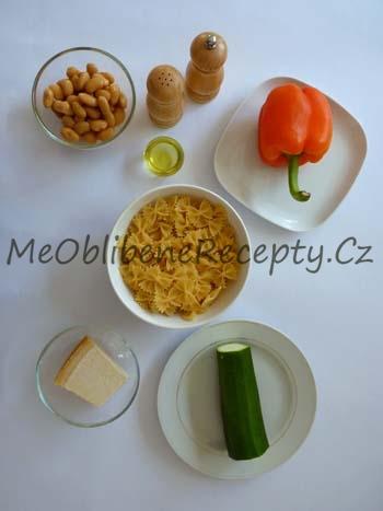 Mašličky s cuketou a fazolemi