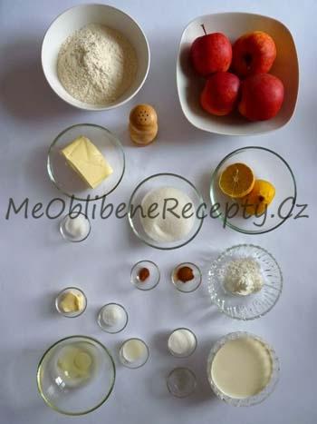 Jablečná crostata