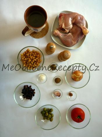 Kuřecí stehna po marocku