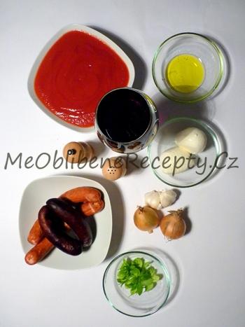 Těstoviny s klobásou a mozzarellou
